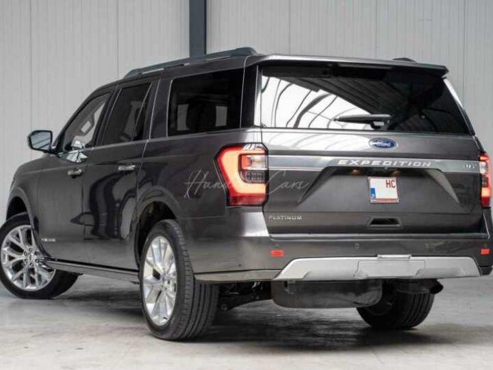 Ford Expedition Max Platinum **Exclusivité** 2019 V6 3.5 Ecoboost 405CV 8pl / FRAIS INCLUS Gris Foncé - 16