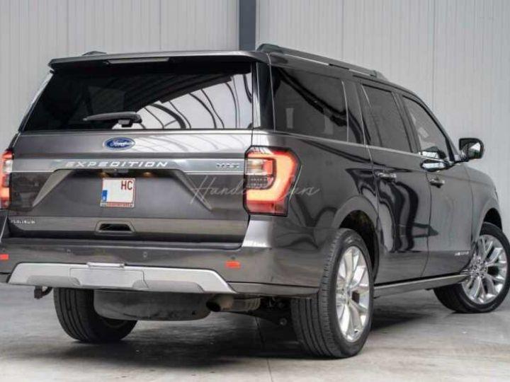 Ford Expedition Max Platinum **Exclusivité** 2019 V6 3.5 Ecoboost 405CV 8pl / FRAIS INCLUS Gris Foncé - 17