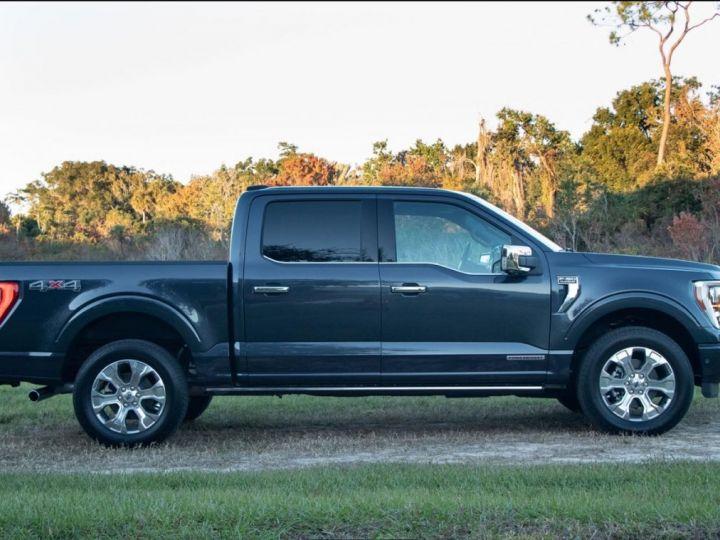 Ford F150 PLATINUM 2021 3,5 L V6 EcoBoost TVA RECUP/PAS TVS/PAS ECOTAXE Agate Black Neuf - 4