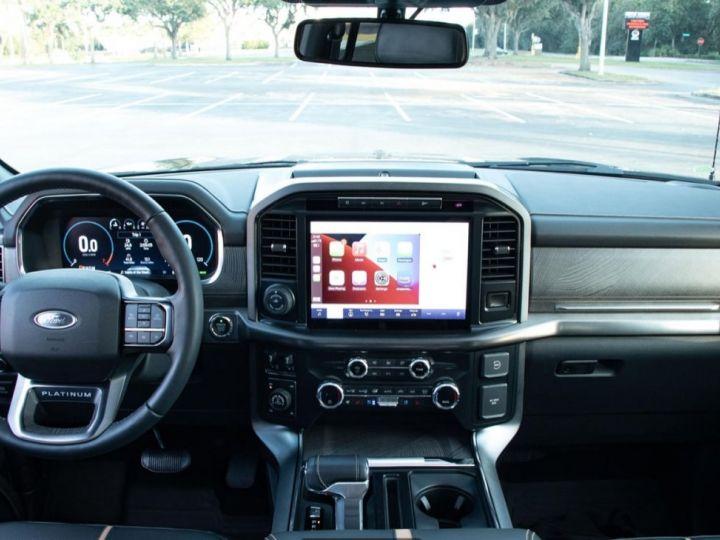 Ford F150 PLATINUM 2021 3,5 L V6 EcoBoost TVA RECUP/PAS TVS/PAS ECOTAXE Agate Black Neuf - 9