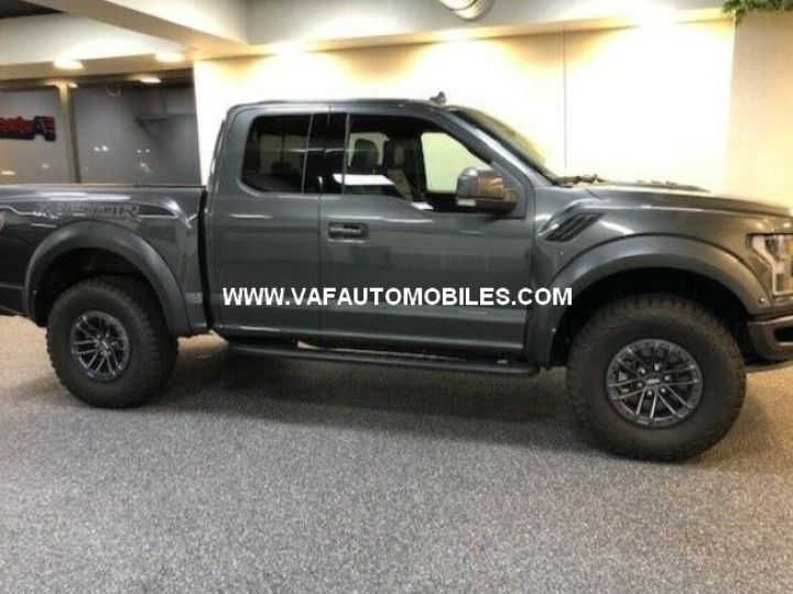 Ford F150 Raptor 450 CH Supercab V6 Ecoboost Twin Turbo  GRIS FONCE Neuf - 2