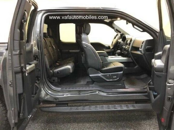 Ford F150 Raptor 450 CH Supercab V6 Ecoboost Twin Turbo  GRIS FONCE Vendu - 6