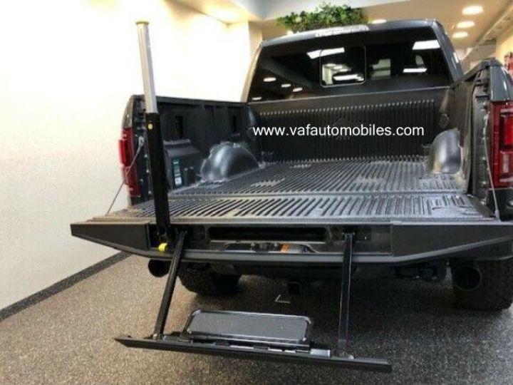 Ford F150 Raptor 450 CH Supercab V6 Ecoboost Twin Turbo  GRIS FONCE Vendu - 7