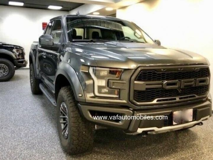 Ford F150 Raptor 450 CH Supercab V6 Ecoboost Twin Turbo  GRIS FONCE Neuf - 1