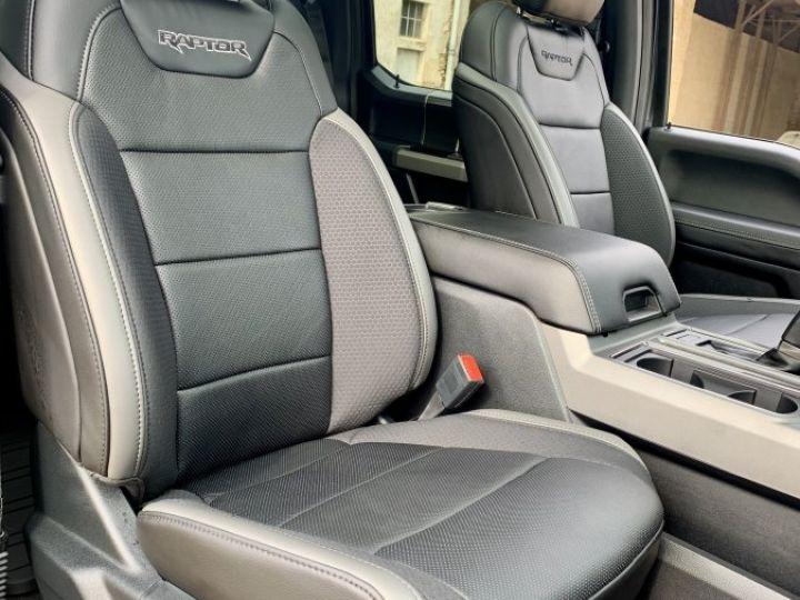 Ford F150 RAPTOR NEUF full options E85/PAS D'ÉCO TAXE/PAS TVS/TVA Récup Noir ou Magnetic Metallic Neuf - 11