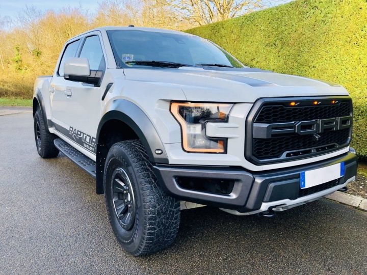 Ford F150 RAPTOR SUPERCREW 2017 Full option version US AVALANCHE GREY Occasion - 2