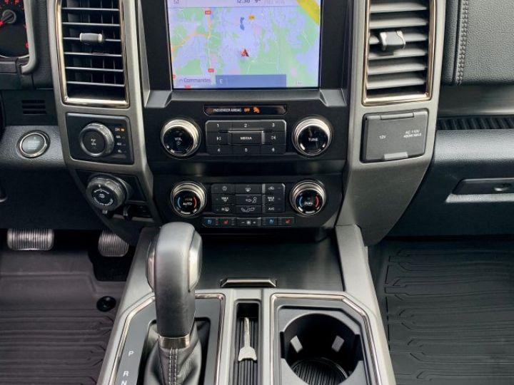 Ford F150 Raptor Supercrew E85 - PAS D'ECO TAXE/PAS TVS/TVA RECUP Noir ou Magnetic Metallic Neuf - 16