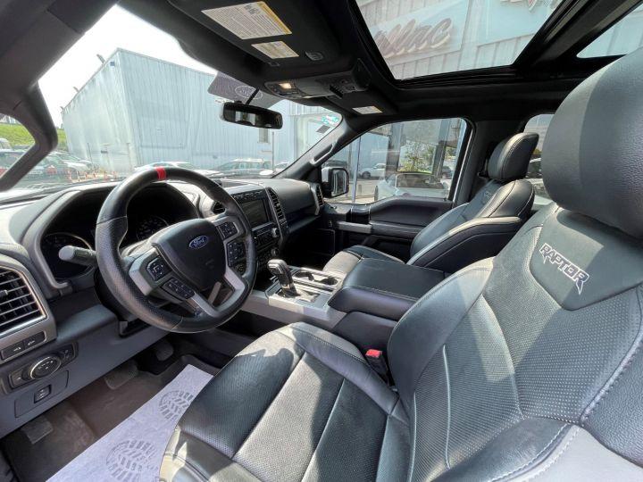 Ford F150 Raptor SuperCrew V6 3.5L EcoBoost Blanc - 9