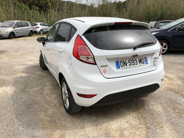Ford Fiesta 1.0 ECOBOOST 125CH STOP&START TITANIUM 5P Blanc - 2