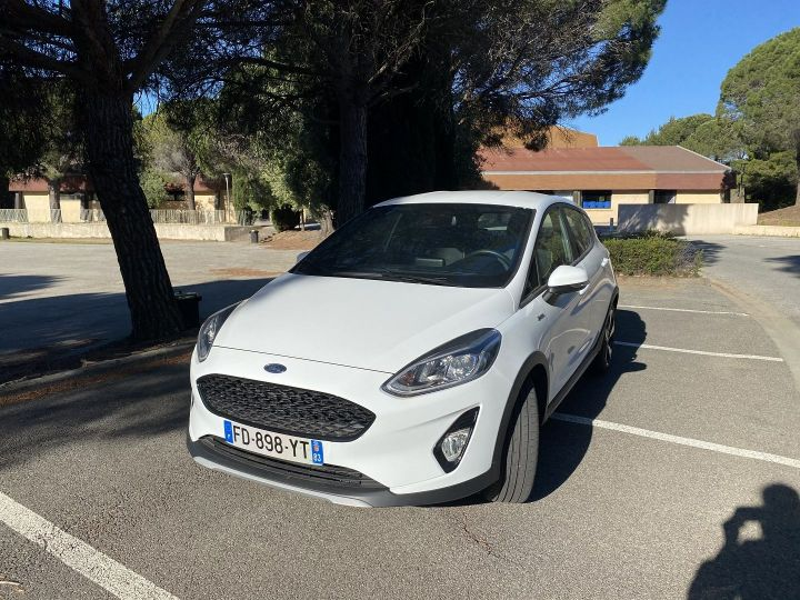 Ford Fiesta 1.0 ECOBOOST 85CH S&S 4CV EURO6.2 Blanc - 1