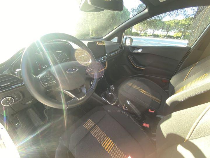 Ford Fiesta 1.0 ECOBOOST 85CH S&S 4CV EURO6.2 Blanc - 7