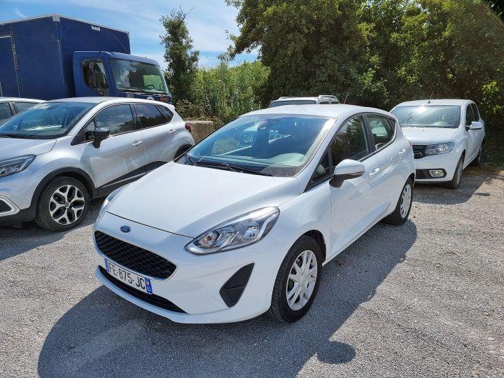 Ford Fiesta 1.1 70CH ESSENTIAL 5P EURO6.2 Blanc - 1