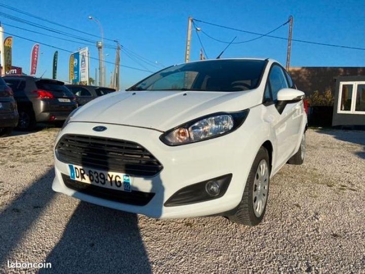 Ford Fiesta 1.5 tdci 75CH EDITION Blanc Occasion - 5