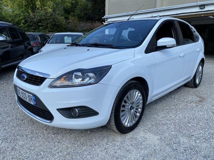 Ford Focus 1.6 TDCI 90CH TITANIUM Blanc - 1