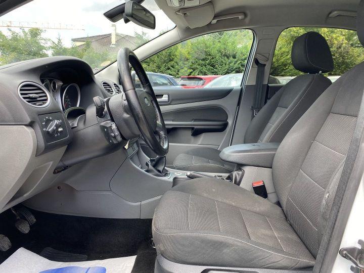 Ford Focus 1.6 TDCI 90CH TITANIUM Blanc - 7