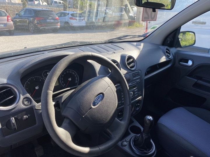 Ford Fusion 1.4 TDCI 68CH TREND Gris F - 3