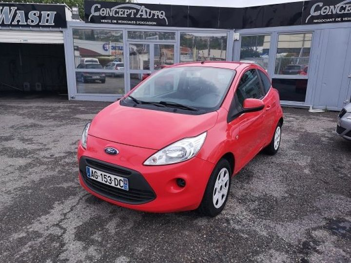 Ford Ka AMBIETE ROUGE METAL Occasion - 1