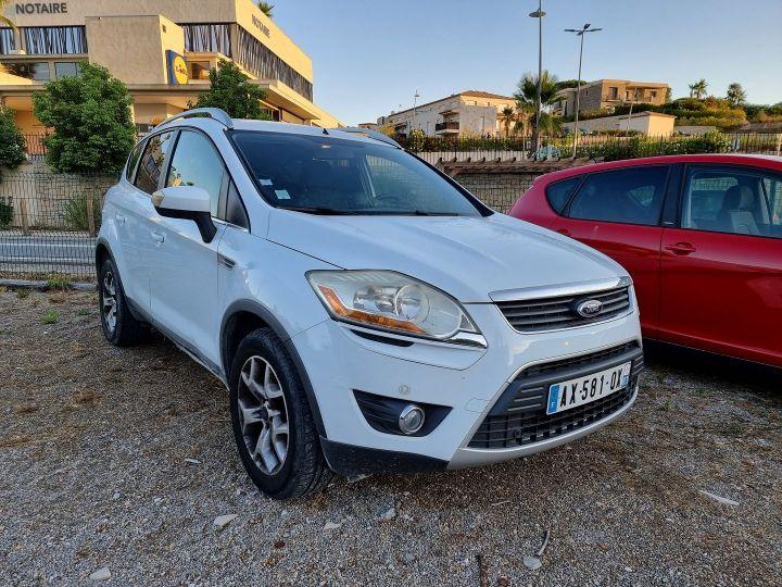 Ford Kuga 2.0 TDCI 136CH DPF TREND 4X2 Blanc - 1
