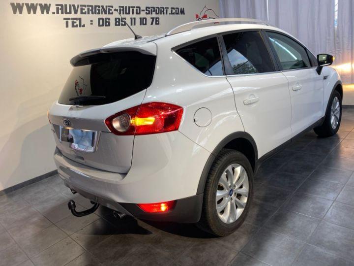Ford Kuga 2.0 TDCI TITANIUM 4WD 140cv 4X4 5P BVM FAP BLANC - 3