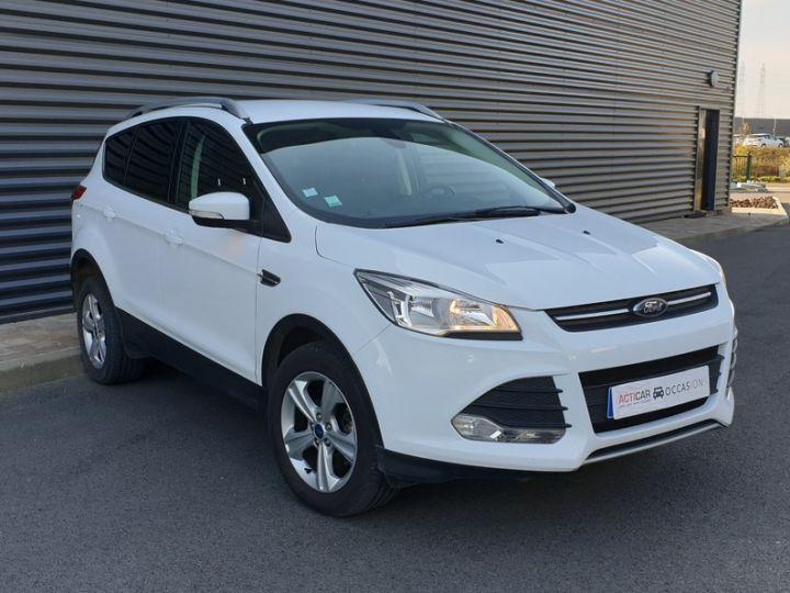 Ford Kuga ii 2.0 tdci 140 4x2 titanium bv6 iiii Blanc Occasion - 2