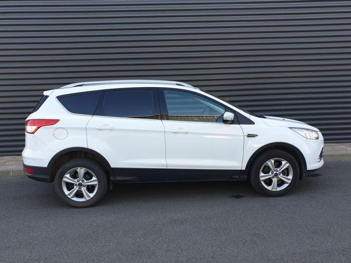 Ford Kuga ii 2.0 tdci 140 4x2 titanium bv6 iiii Blanc Occasion - 3