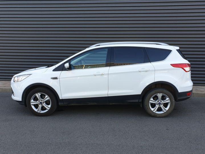 Ford Kuga ii 2.0 tdci 140 4x2 titanium bv6 iiii Blanc Occasion - 4