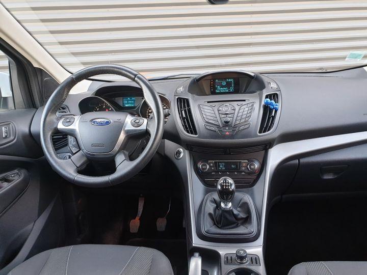Ford Kuga ii 2.0 tdci 140 4x2 titanium bv6 iiii Blanc Occasion - 5