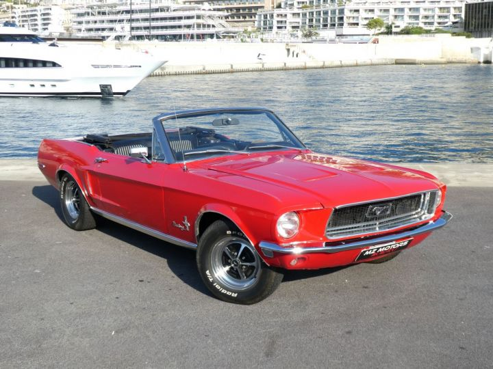 Ford Mustang Rouge Occasion - 6