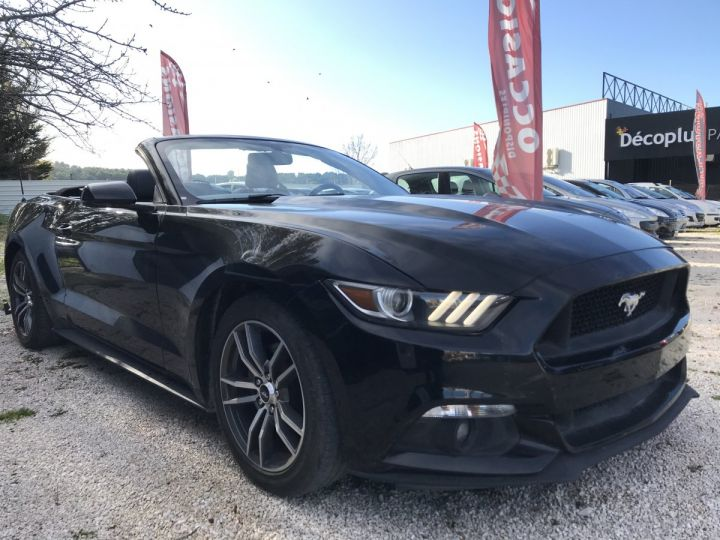Ford Mustang 2.3 ECOBOOST  NOIR Occasion - 2