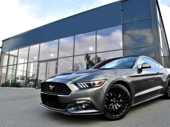 Ford Mustang 2.3 ECOBOOST 317CH BVA6 GRIS Occasion - 1
