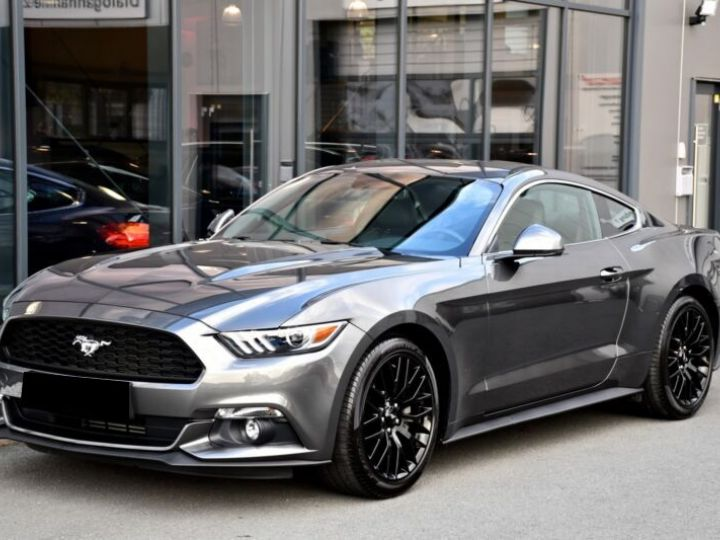 Ford Mustang 2.3 ECOBOOST 317CH BVA6 GRIS Occasion - 2
