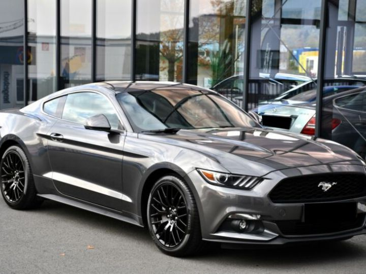 Ford Mustang 2.3 ECOBOOST 317CH BVA6 GRIS Occasion - 3