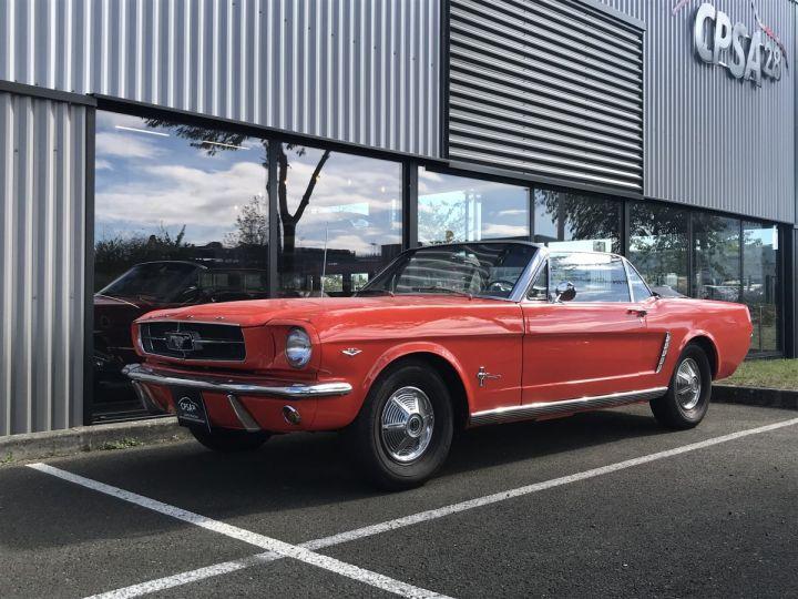 Ford Mustang 260 CI strocké 302 CI poppy red - 1