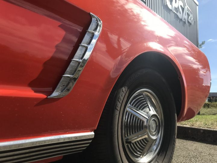 Ford Mustang 260 CI strocké 302 CI poppy red - 9