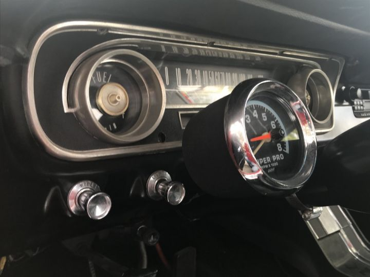 Ford Mustang 260 CI strocké 302 CI poppy red - 15