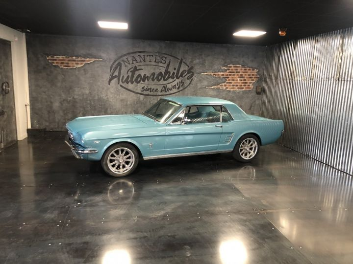 Ford Mustang 4,7l 289 CI turquoise - 1
