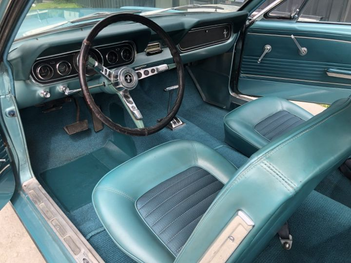 Ford Mustang 4,7l 289 CI turquoise - 12