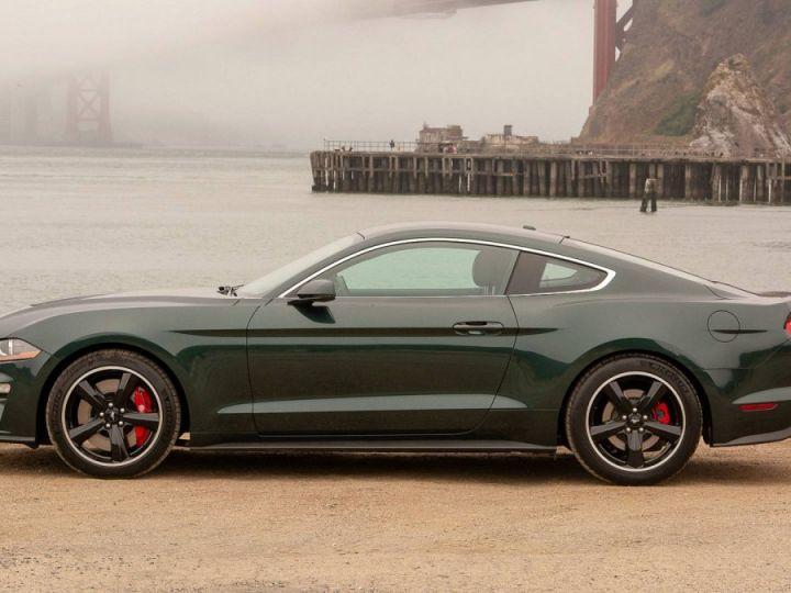 Ford Mustang Bullitt Magnetic Ride Coupé - MALUS INCLUS - 7 ANS GARANTIE/Européenne Vert highland Neuf - 3
