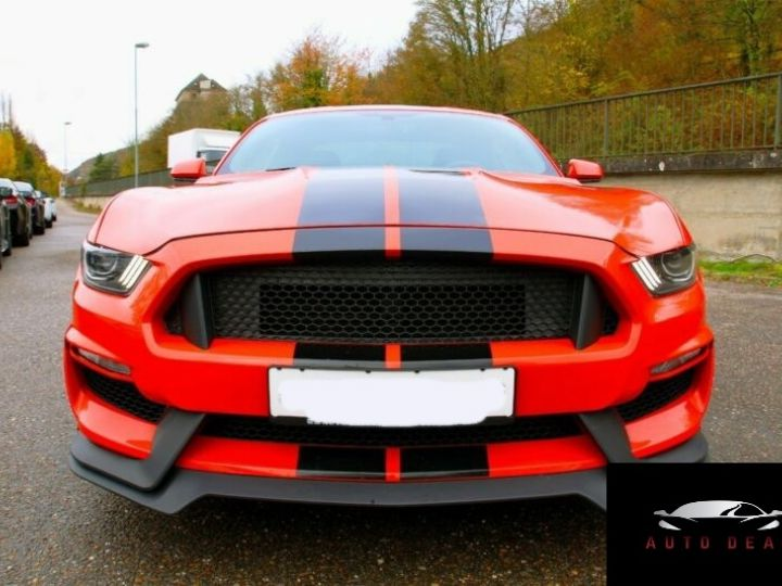 Ford Mustang Fastback 2.3 EcoBoost / GT 19 pouces ROUGE - 1