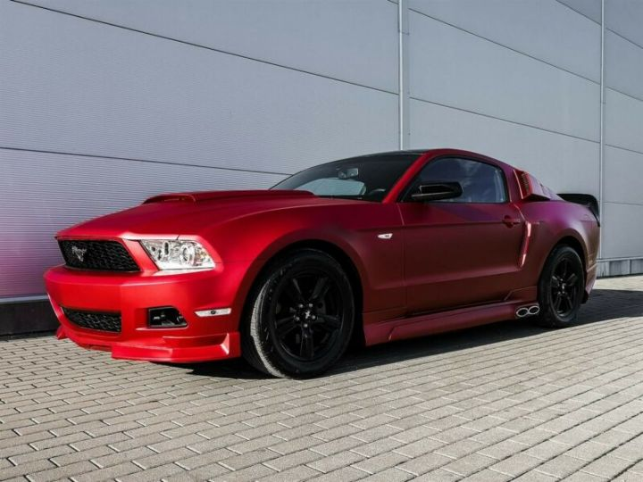 Ford Mustang Fastback 3.7l V6 BVA ROUGE - 1