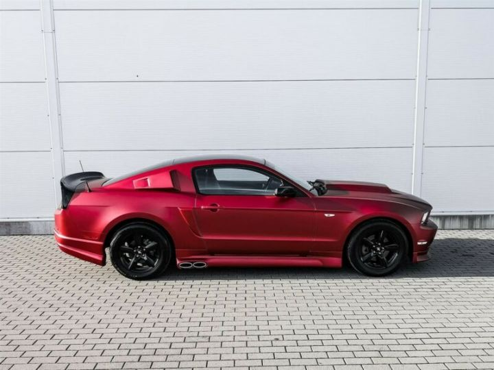 Ford Mustang Fastback 3.7l V6 BVA ROUGE - 5