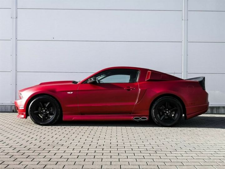 Ford Mustang Fastback 3.7l V6 BVA ROUGE - 8