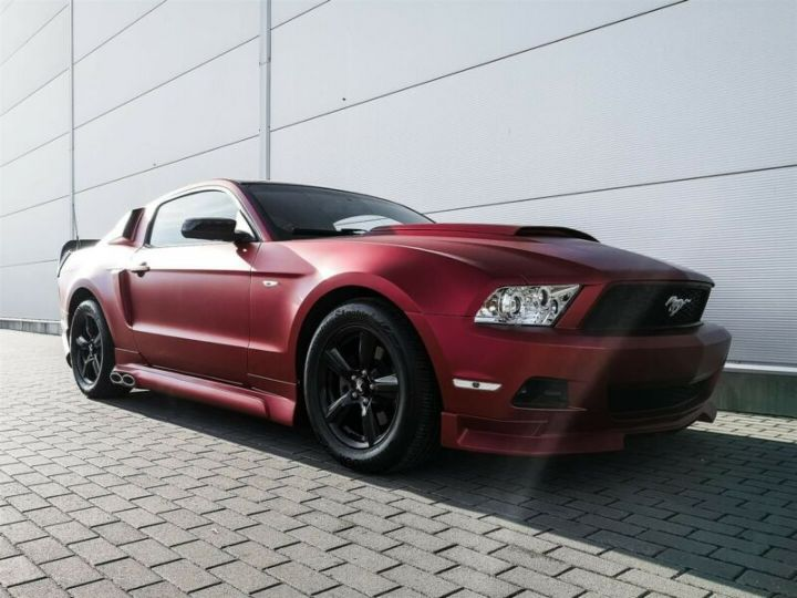 Ford Mustang Fastback 3.7l V6 BVA ROUGE - 9