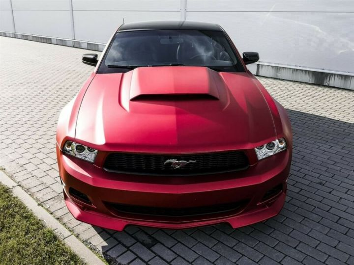 Ford Mustang Fastback 3.7l V6 BVA ROUGE - 10