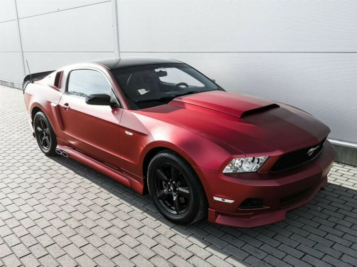 Ford Mustang Fastback 3.7l V6 BVA ROUGE - 15