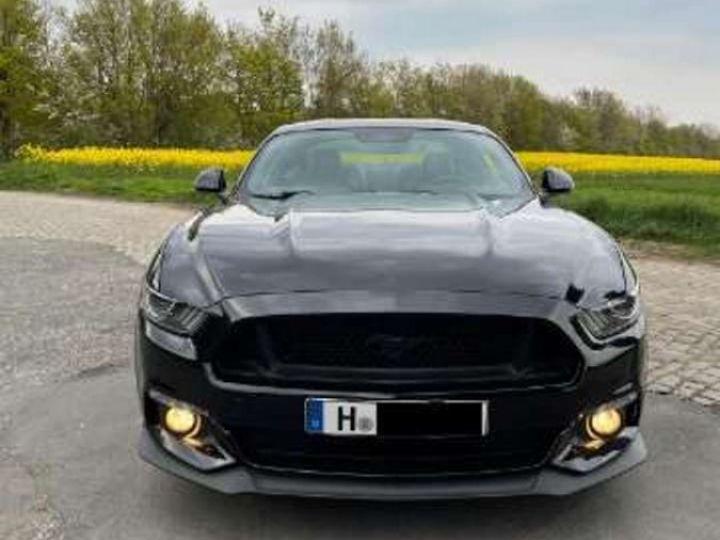Ford Mustang  Fastback VI 5.0 V8 421ch GT BVA6 Garantie & Livrée Noir Métal - 1