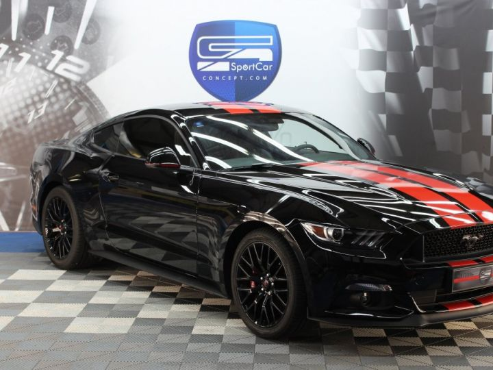 Ford Mustang Ford Mustang fastback 5.0 V8 / 11000 kms / Pack Prenium / Pack Hif Shaker / CAMERA BLACK SHADOW Occasion - 1