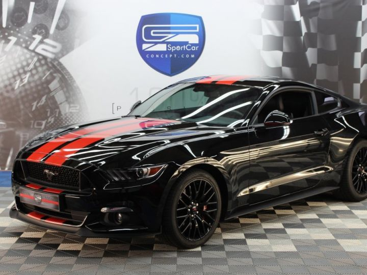 Ford Mustang Ford Mustang fastback 5.0 V8 / 11000 kms / Pack Prenium / Pack Hif Shaker / CAMERA BLACK SHADOW Occasion - 2