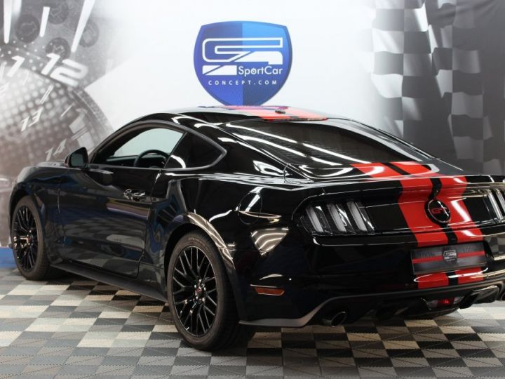Ford Mustang Ford Mustang fastback 5.0 V8 / 11000 kms / Pack Prenium / Pack Hif Shaker / CAMERA BLACK SHADOW Occasion - 3