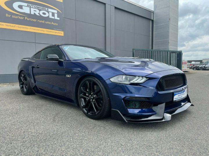 Ford Mustang Ford MUSTANG VI (2) FASTBACK 5.0 V8 450CV GT BVA10 Livraison et Malus Inclus Bleu Métal - 3